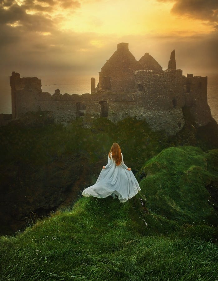 Dunluce Castle in Northern Ireland is a magical place to visit
