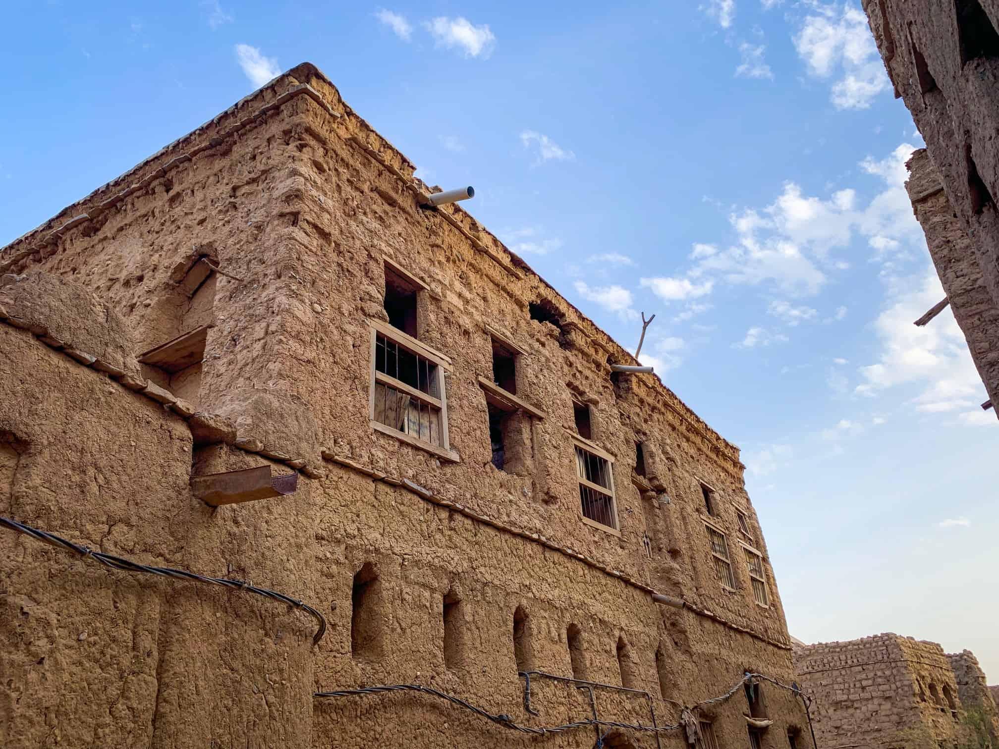 Abandoned village in Al Hamra Oman
