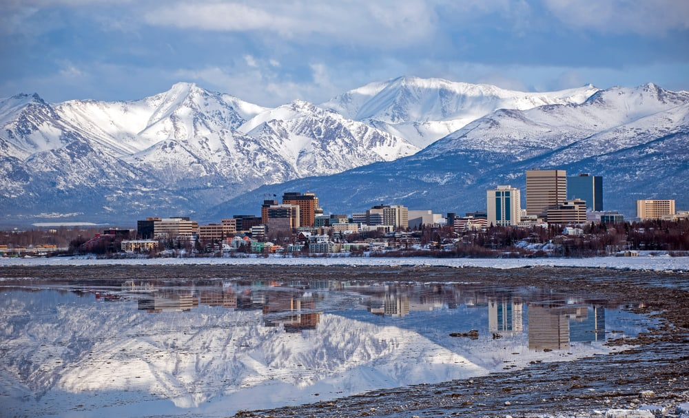 Anchorage is the first stop on your Alaska road trip