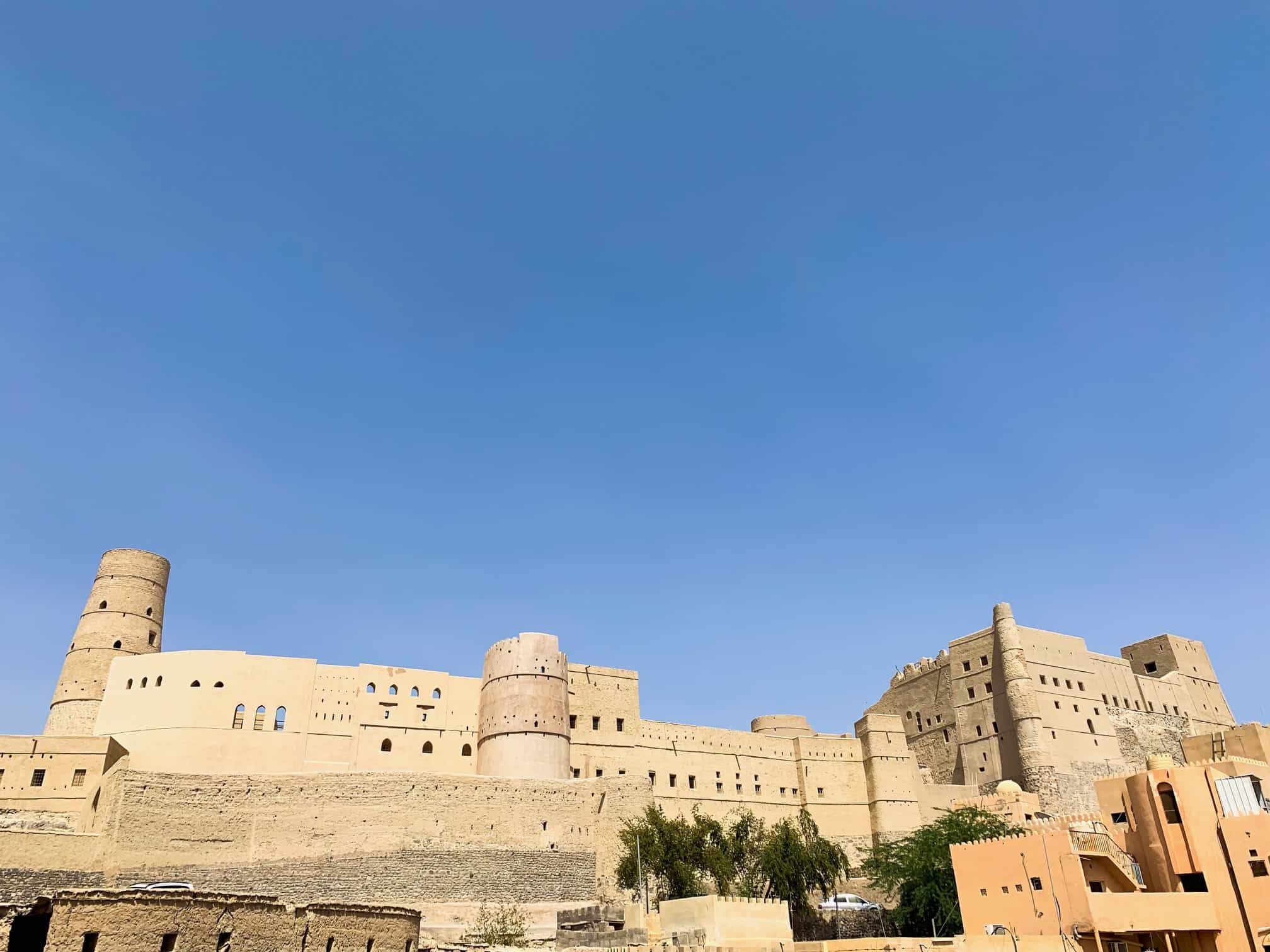 Exterior of Bahla Fort in Oman