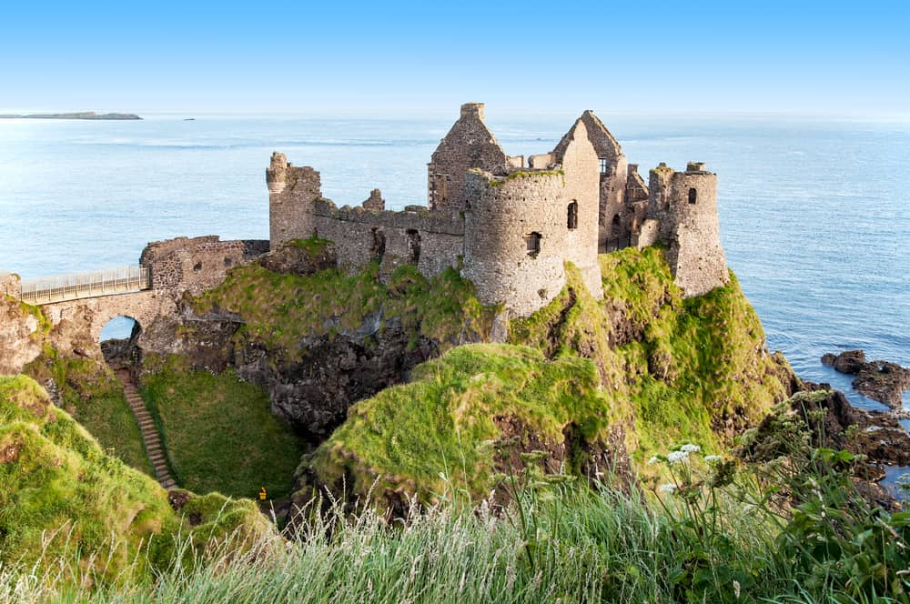 Enchanted with ruins Dunluce Castle should be your next castles of Europe stop