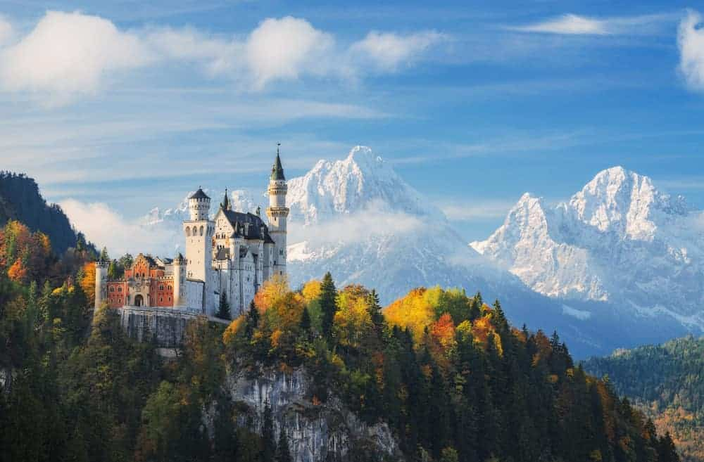 the most picturesque castle in Europe Neuschwanstein Castle in Germany is a Disney Princess lovers dream