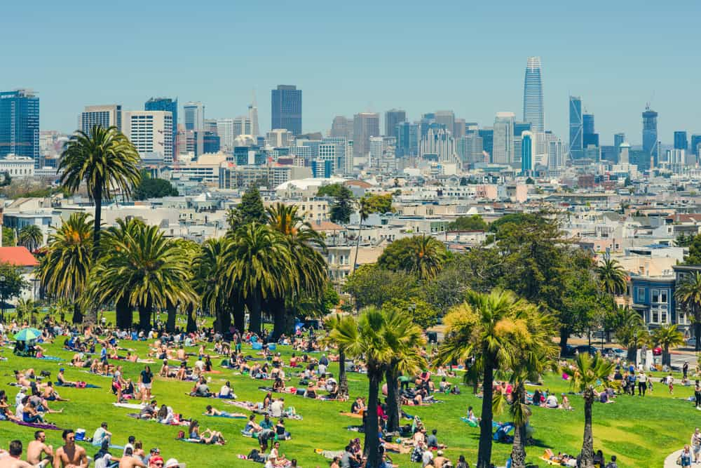 live like a local and visit Dolores Park