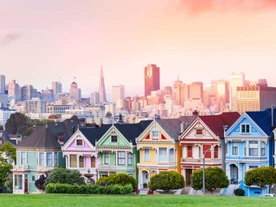 The painted ladies are a must see in San Francisco