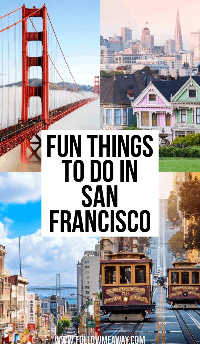 10 fun things to do in San Francisco