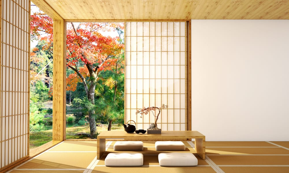 Stay in a traditional hotel when planning a trip to Japan