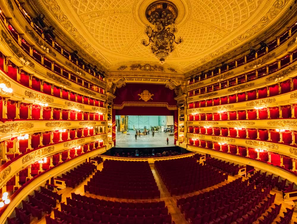 Teatro Alla Scalla is a must see on your one day in Milan