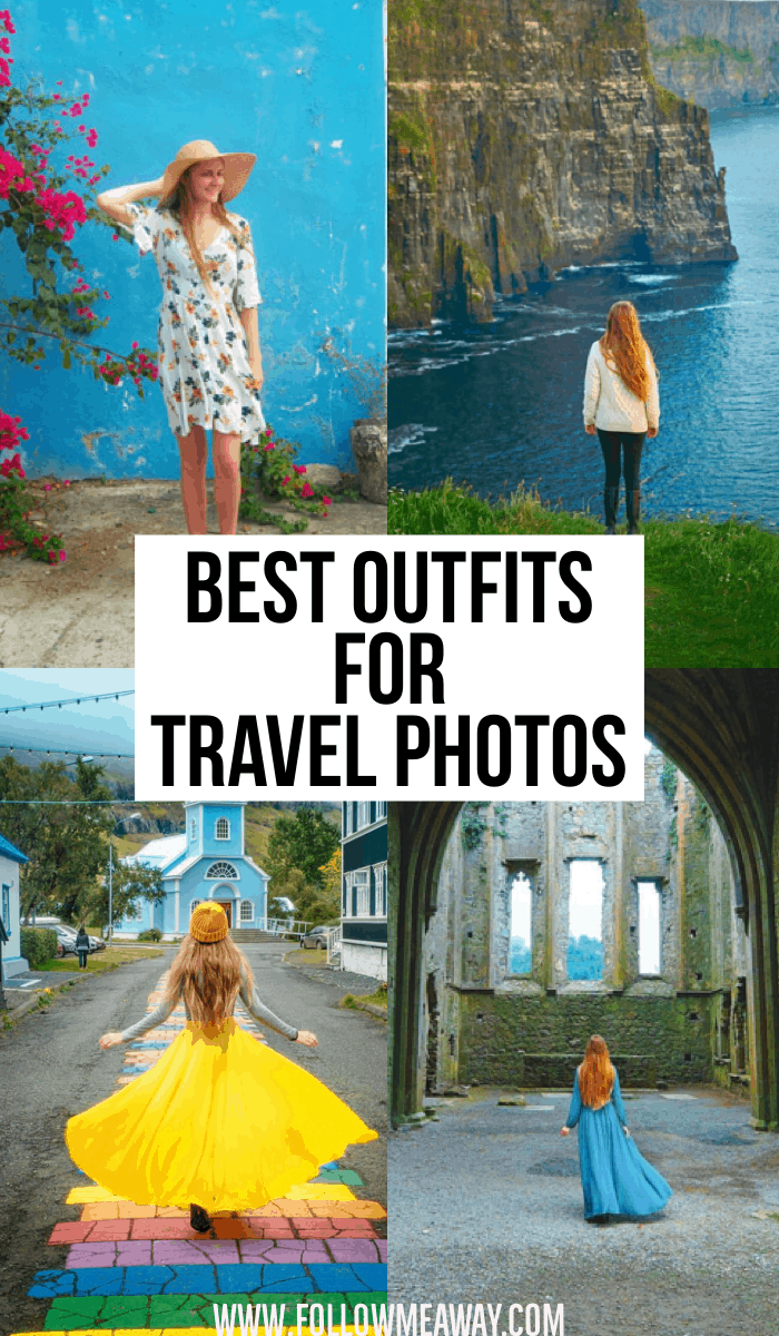 Best outfits for travel photos