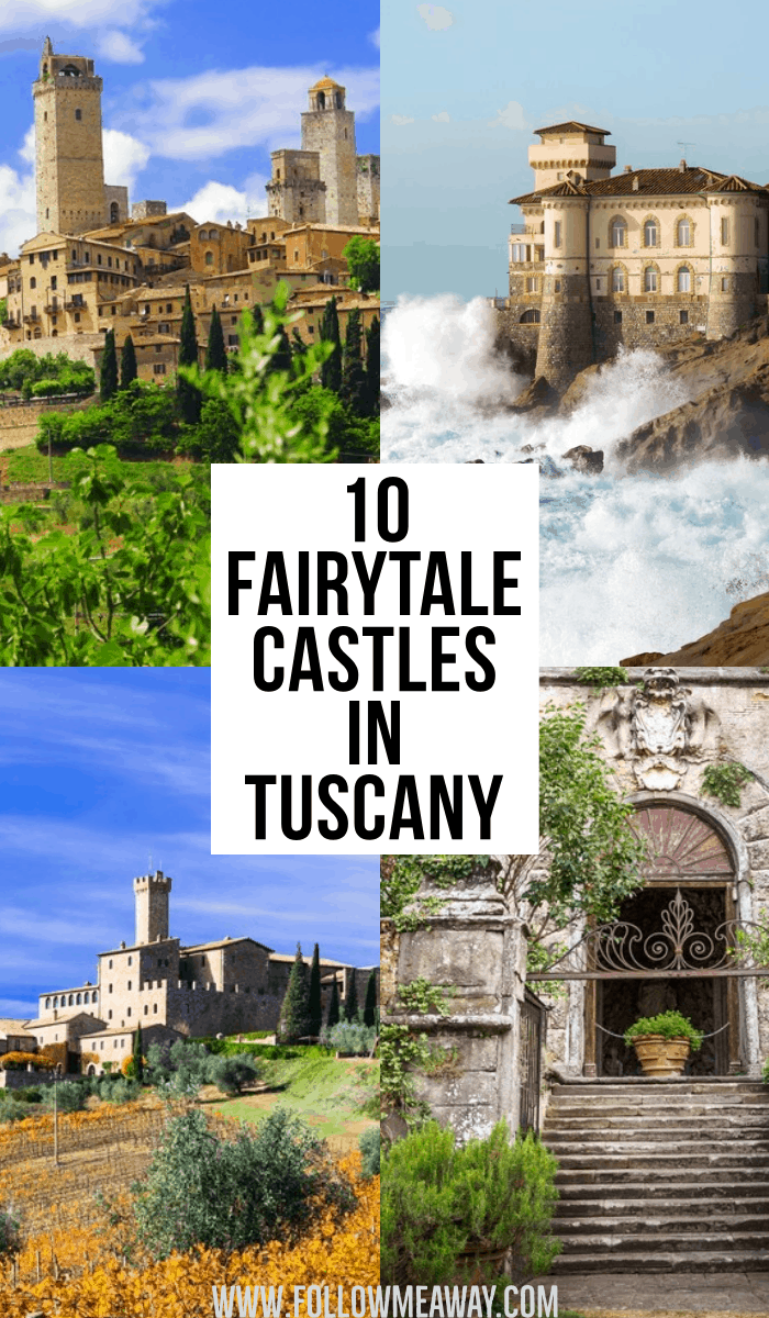 10 fairytale castles in tuscany