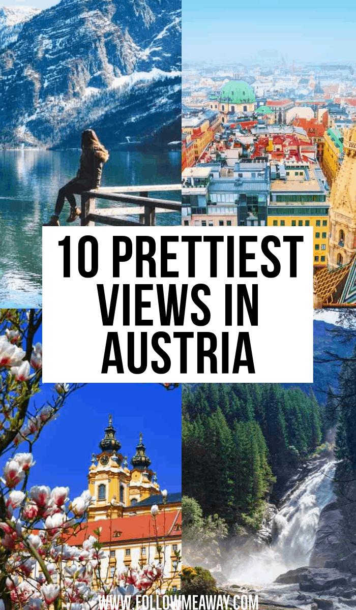 prettiest views in austria
