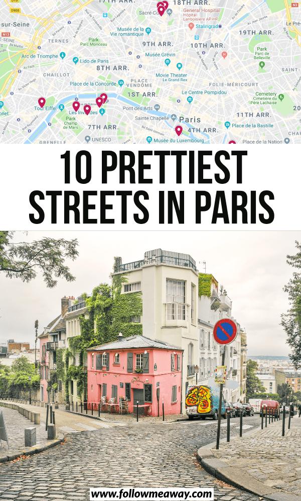 10 prettiest streets in paris