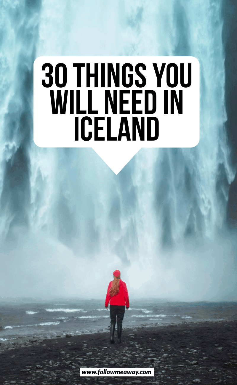 30 things you need in iceland