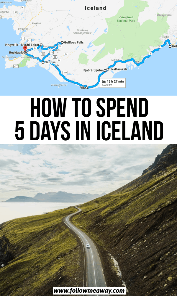 how to spend 5 days in iceland
