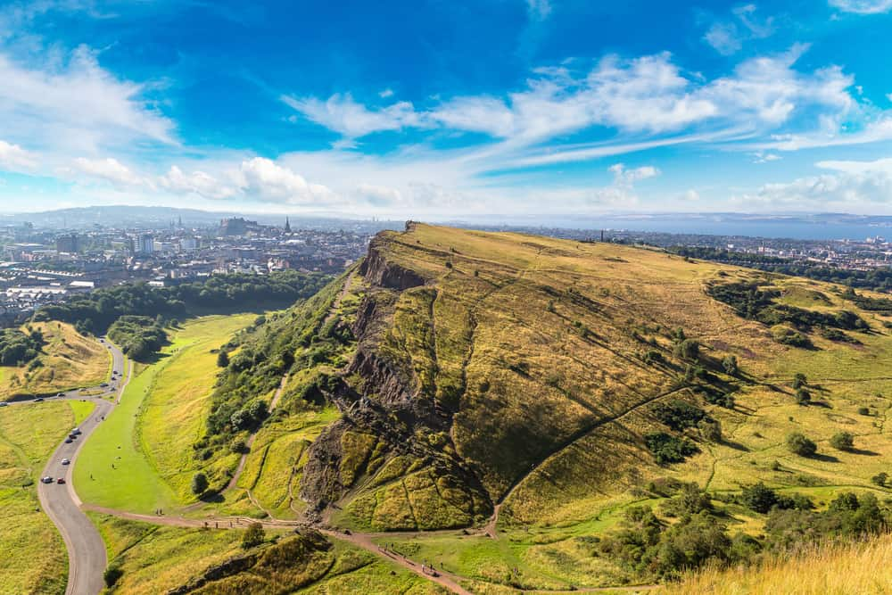 A weekend in Edinburgh is incomplete without hiking up to Arthur's Seat!