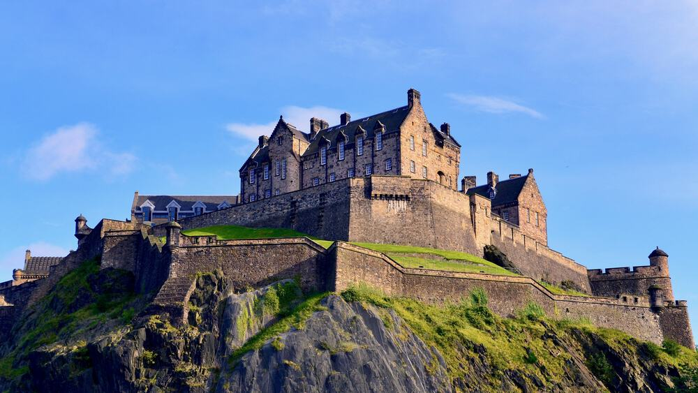 Edinburgh Castle is the number one sight to see on a weekend in Edinburgh