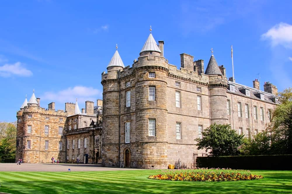 Historic Holyrood Palace is an iconic building to visit on a weekend in Edinburgh