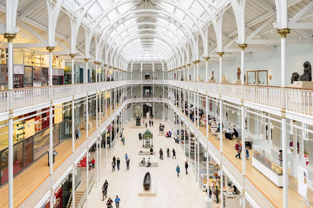 The National Museum of Scotland is a fun place for a weekend in Edinburgh