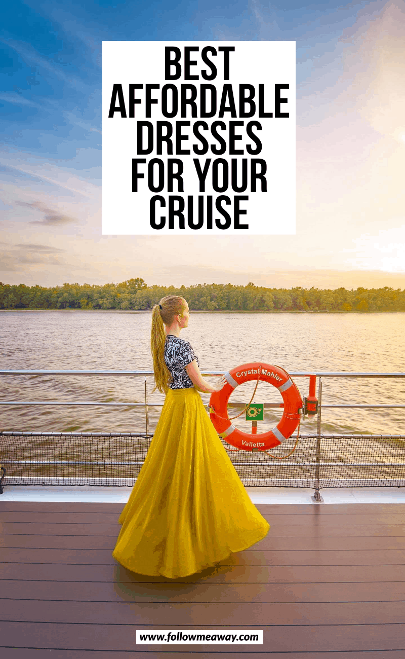 best affordable dresses for your cruise