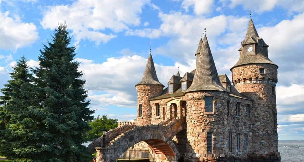 Boldt Castle is one of the prettiest castles in America