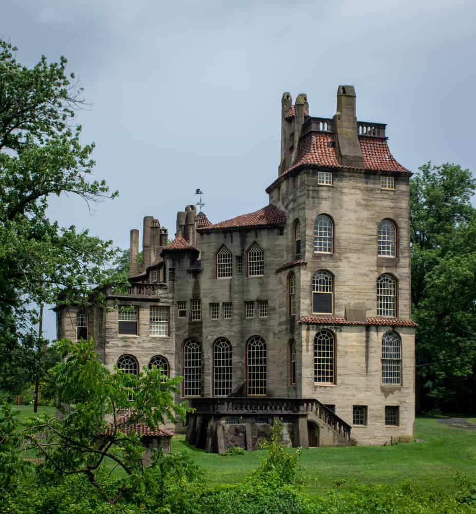 Pennsylvania has one of the most interesting castles in America