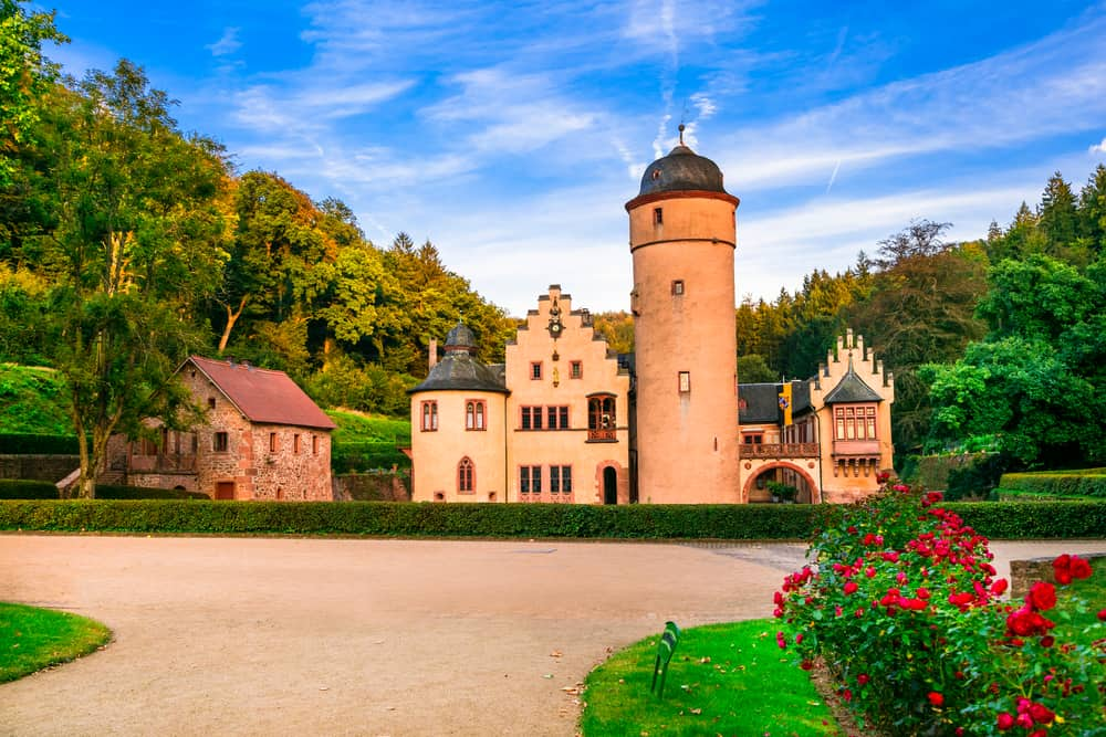 Many castles in Germany exude a romantic feel, looking at Mespelbrunn Castle it's easy to see how
