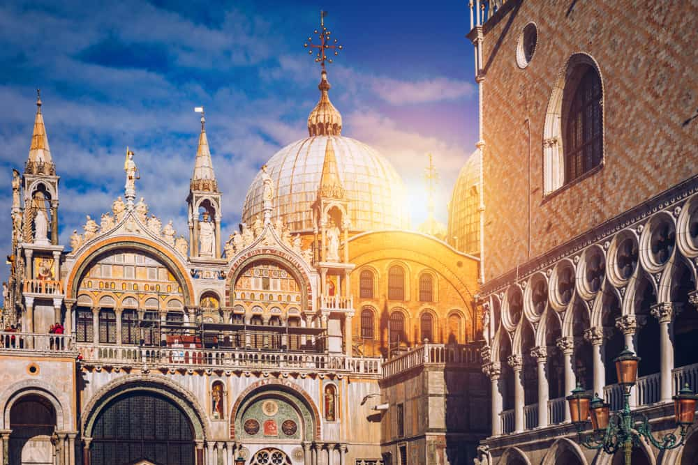 Saint marks basilica is the main church you should visit spending one day in venice
