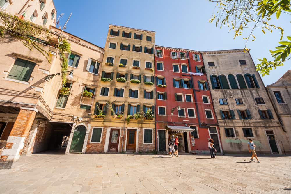 The venetian ghetto is the oldest ghetto in the world anf a nice place to visit during one day in venice
