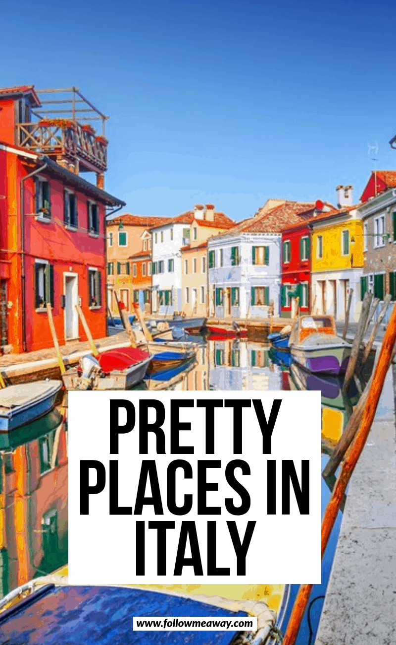 pretty places in italy