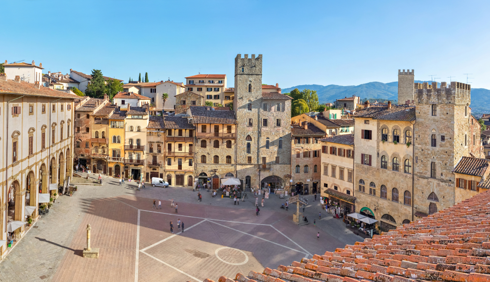 Arezzo is a great Tuscany stop