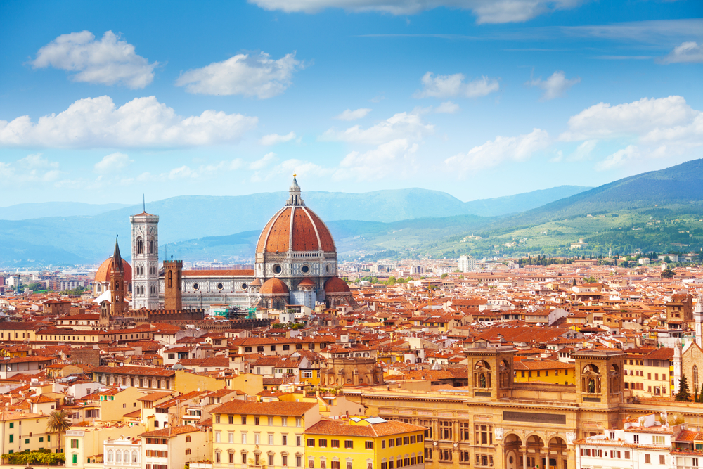 Panorama of Florence including Duomo