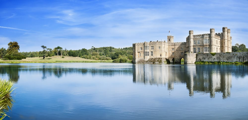Leeds Castle is know as the loveliest castle in England