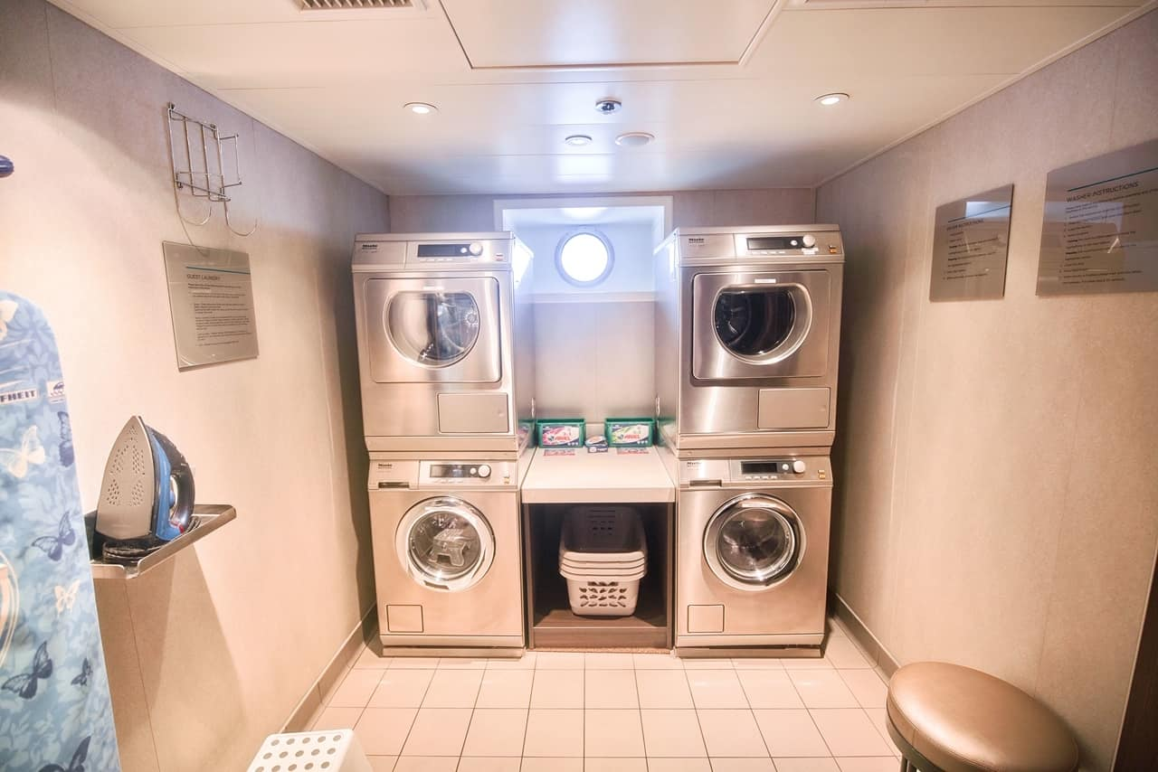 Laundry room on Crystal Mahler
