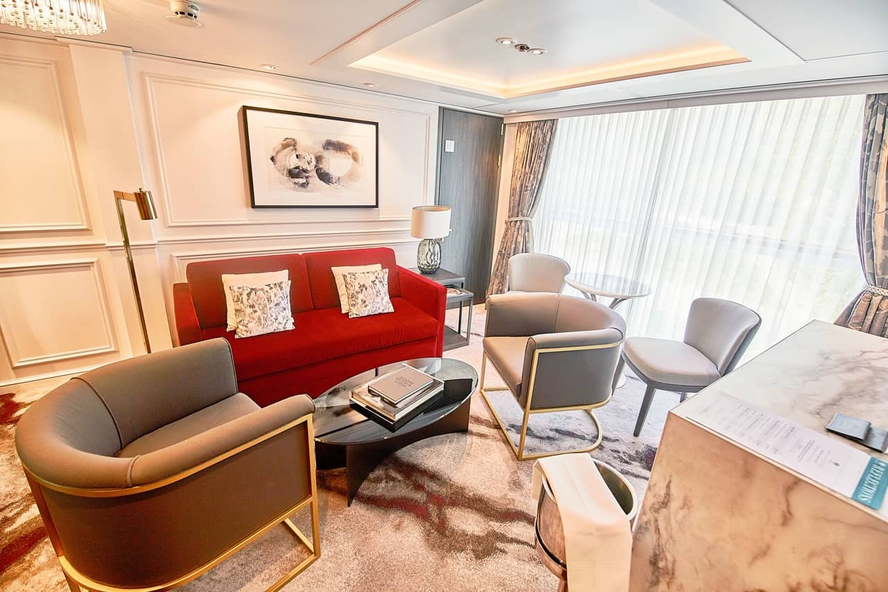 Penthouse Suite on crystal river cruises