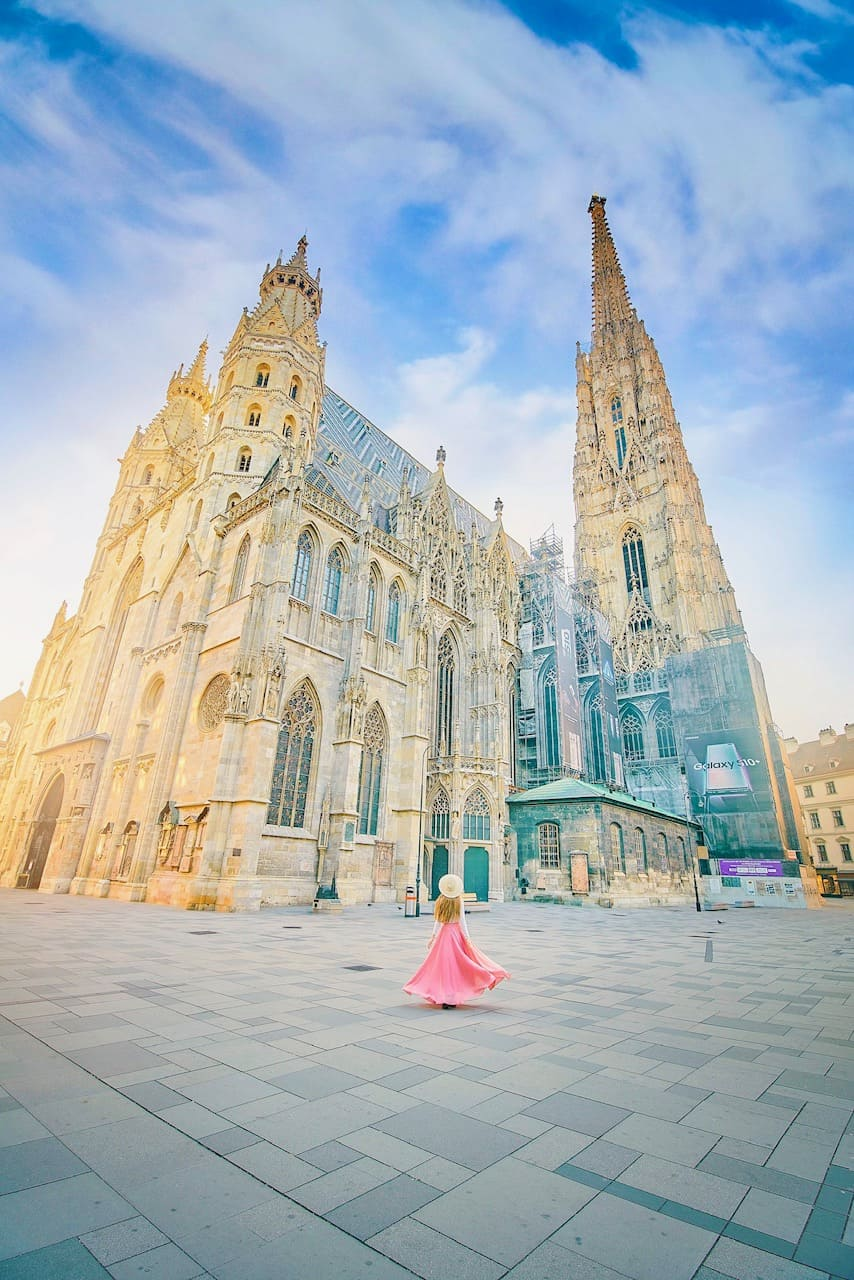 you can day trip into Vienna on Crystal Cruises