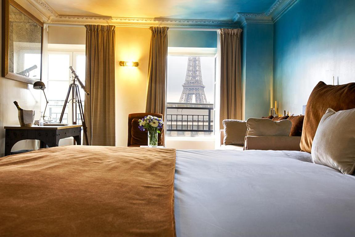 An eco friendly hotel and views?? The Trocadero is amazing!