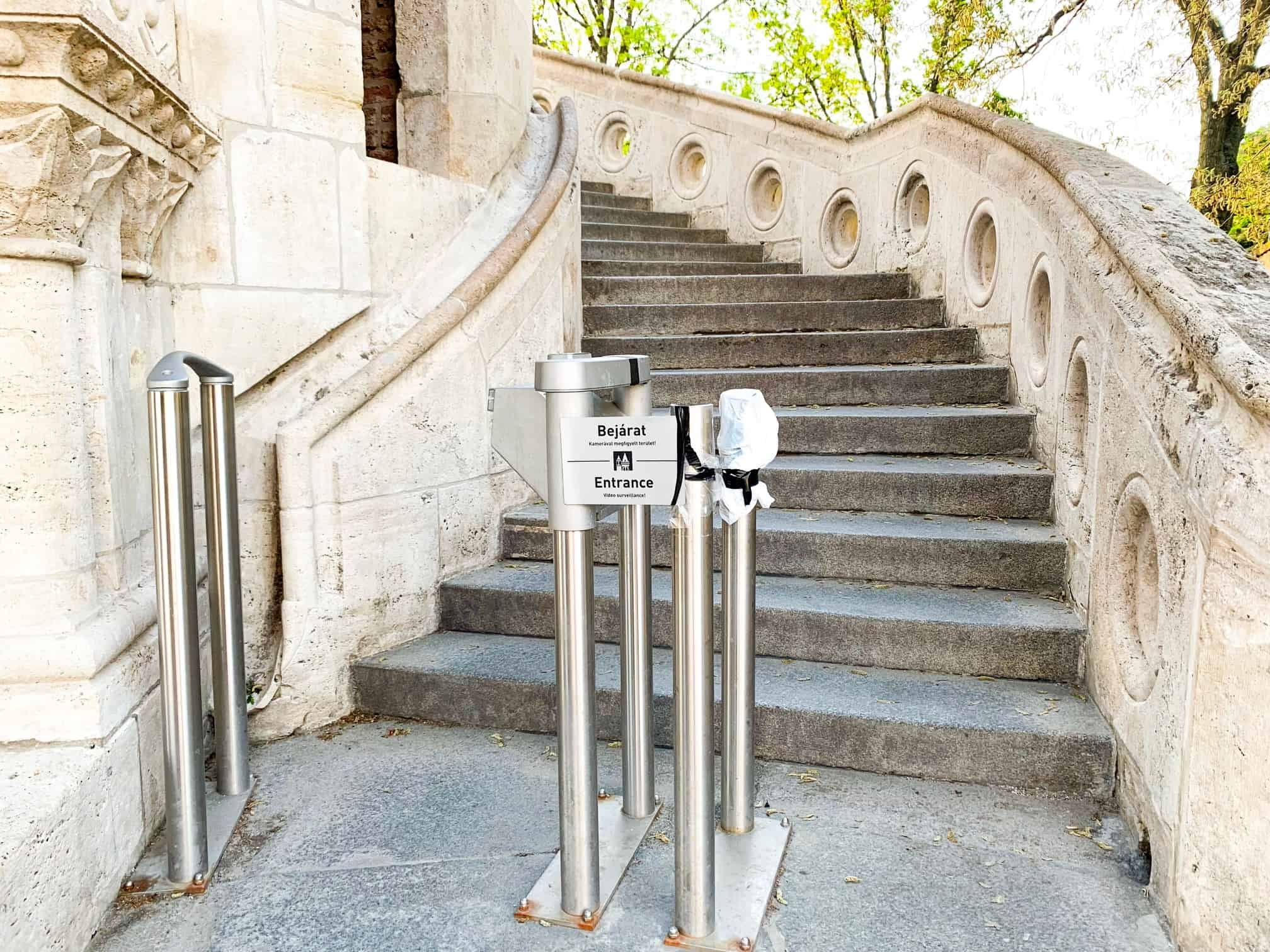 Entrance fee to Fisherman's Bastion Hungary