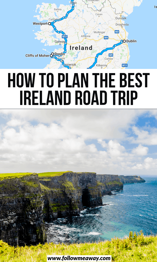 how to plan the best ireland road trip