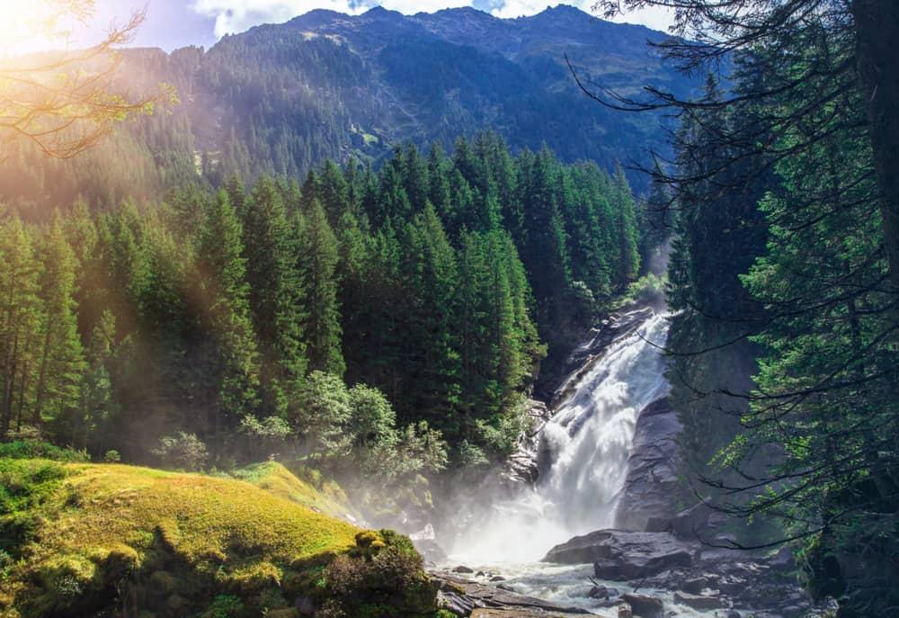 krimml falls austria