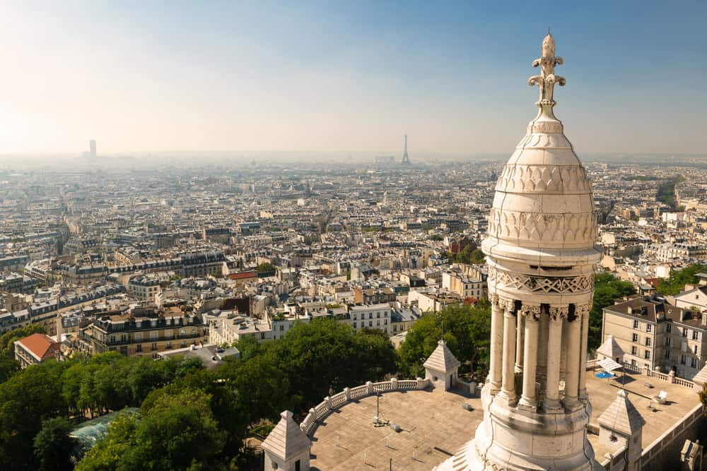The view from the sacre coear is one of the biggest perks of this beautiful place in paris