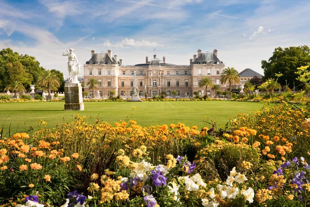 The Jardin du luxembourg is fit for a queen and one of the most beautiful places in paris