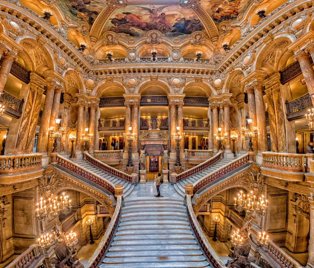 The Palais Garnier is an incredible opera house and one of the most beautiful places in Paris.