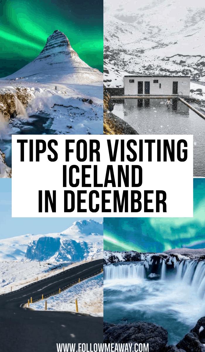 tips for visiting iceland in december