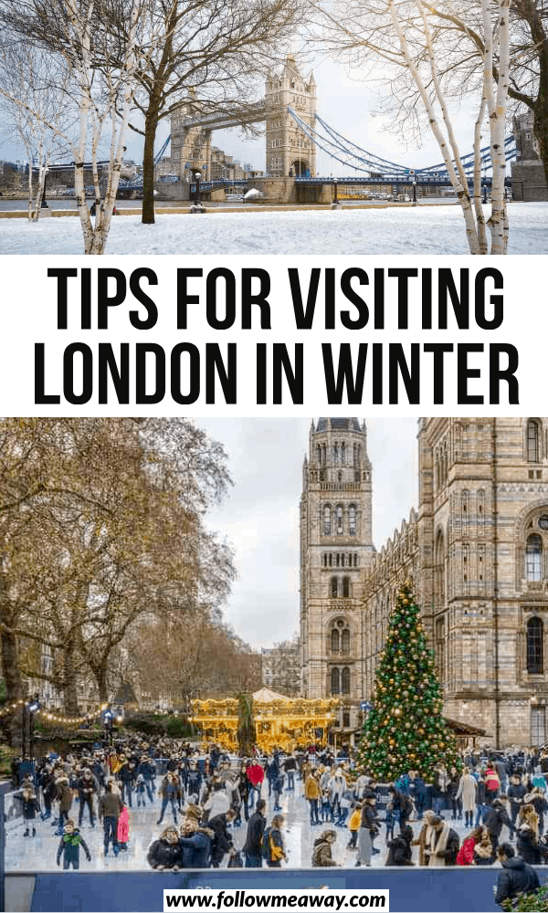 tips for visiting london in winter