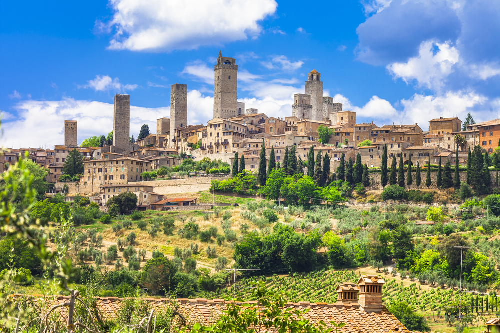 San Gimignano is a lovely stop on your Tuscany road trip