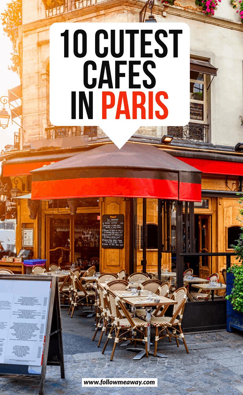 10 cutest cafes in paris