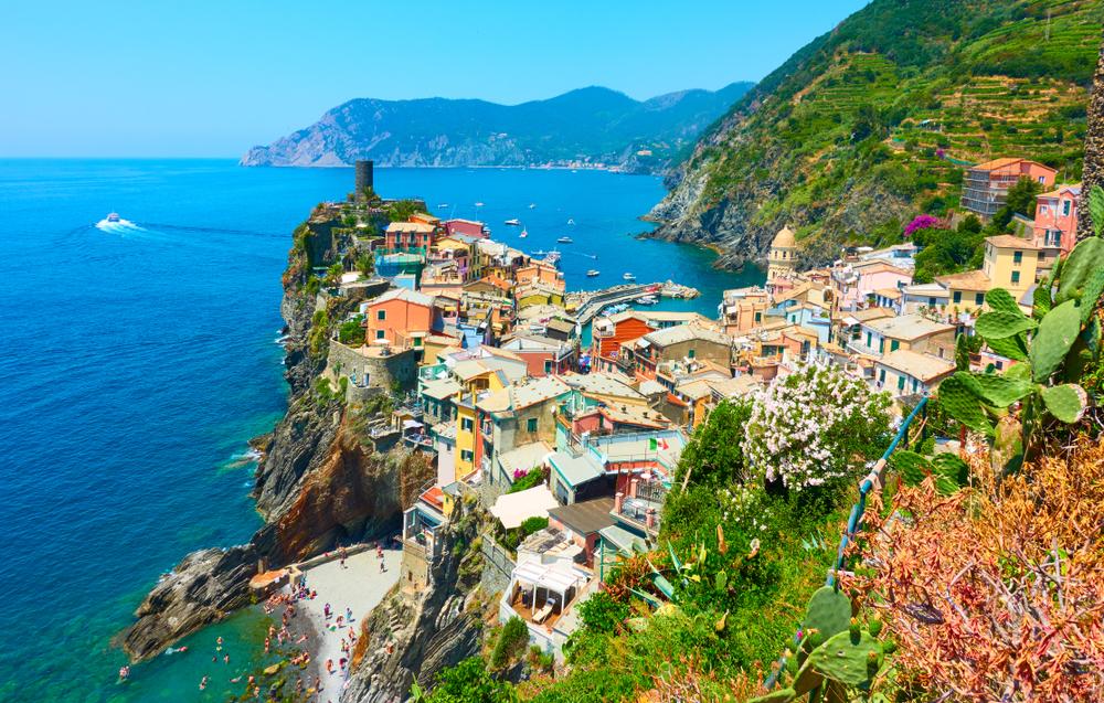 Vernazza Italy in Cinque Terre