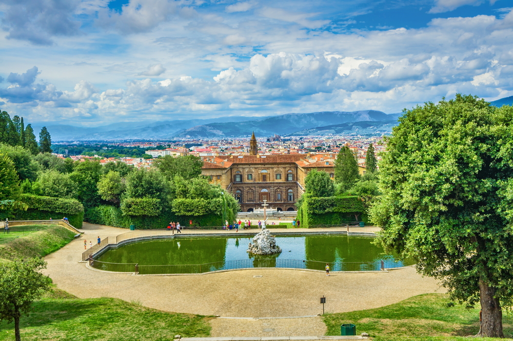 Visit Boboli Gardens during your itinerary in Florence