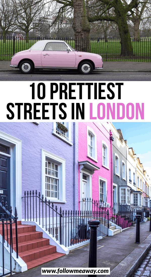 10 prettiest streets in london