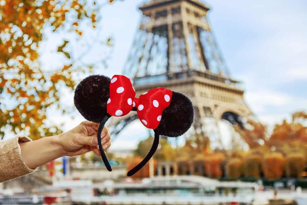 Visit Disneyland while spending christmas in paris