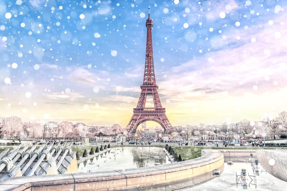 You will love spending your christmas in paris